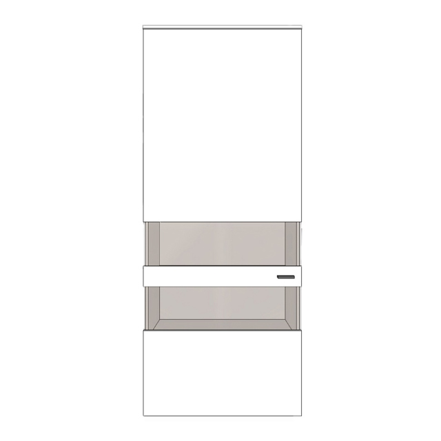 Varenna - H9-402L Wall Unit With Left Hinge