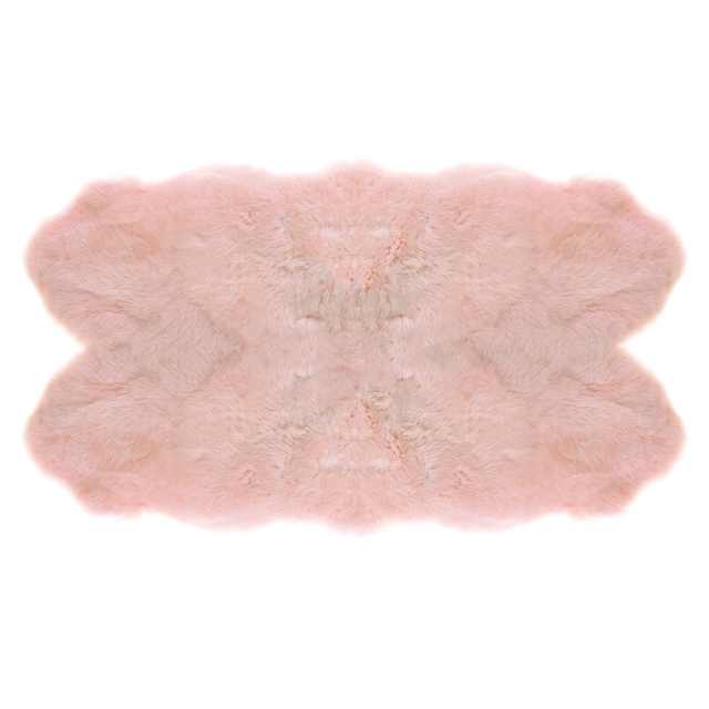 Sheepskin Rug Candy Floss Goldstar Double