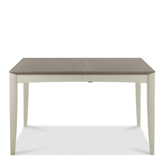 Bremen - 4-6 Extending Dining Table In Grey Washed Oak With Soft Grey Finish