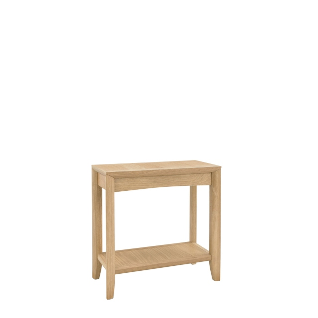 Bremen - Side Table With Oak Finish