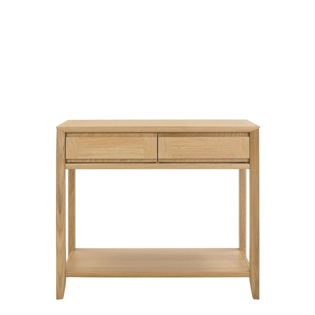 Bremen - Console Table With Drawer With Oak Finish