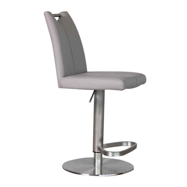 Ede - Black PU Bar Stool