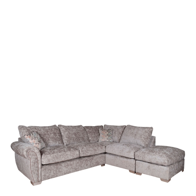 Miami - Standard Back Corner Chaise Group LHF Arm/RHF Chaise Including Footstool