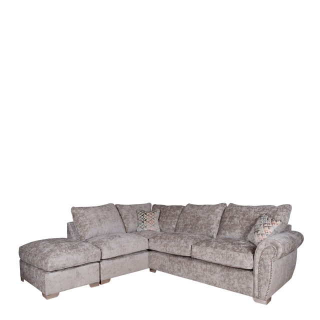Miami - Standard Back Corner Chaise Group RHF Arm/LHF Chaise Including Footstool