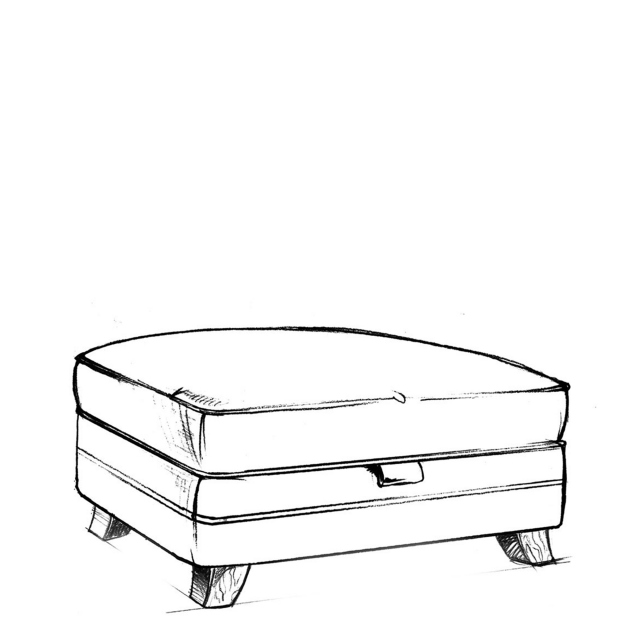 Arnage - Large Storage Footstool