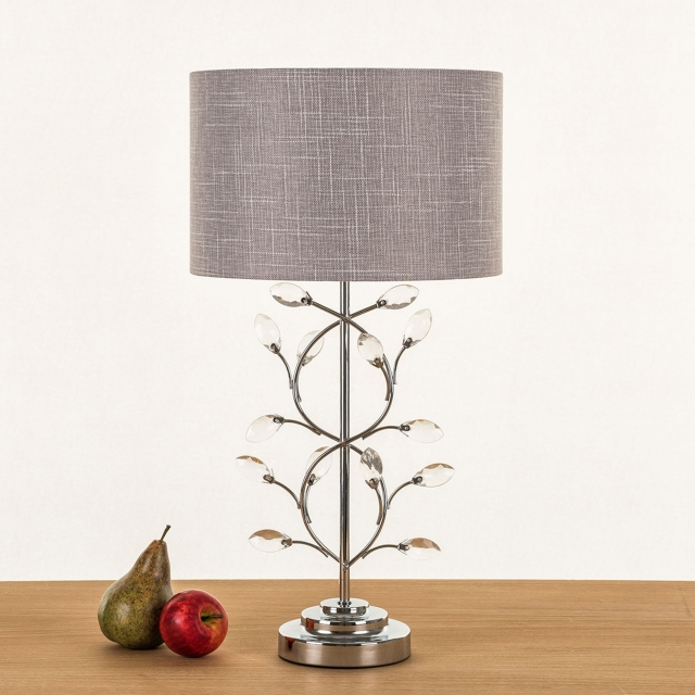 Dandelion Table Lamp Grey