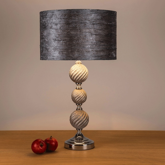 Ginkgo Table Lamp Grey