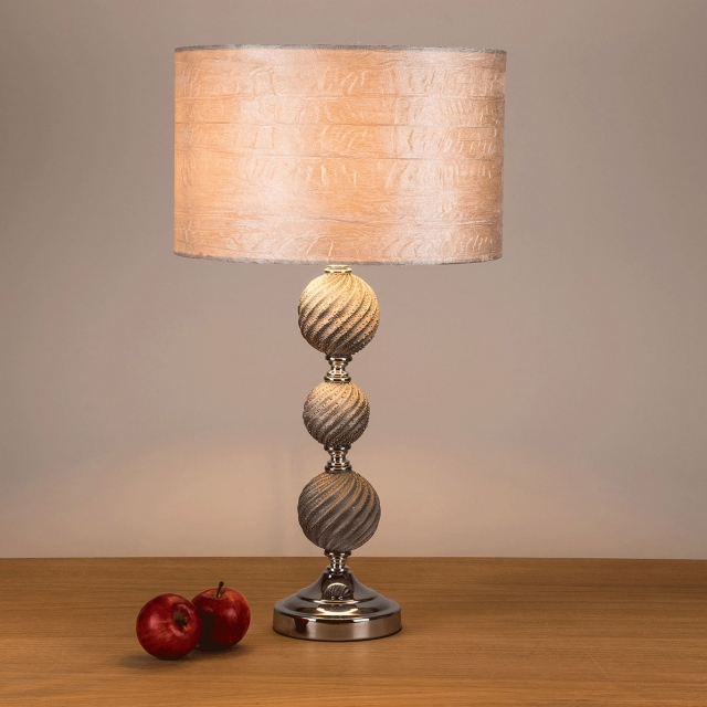 Ginkgo Table Lamp Ivory
