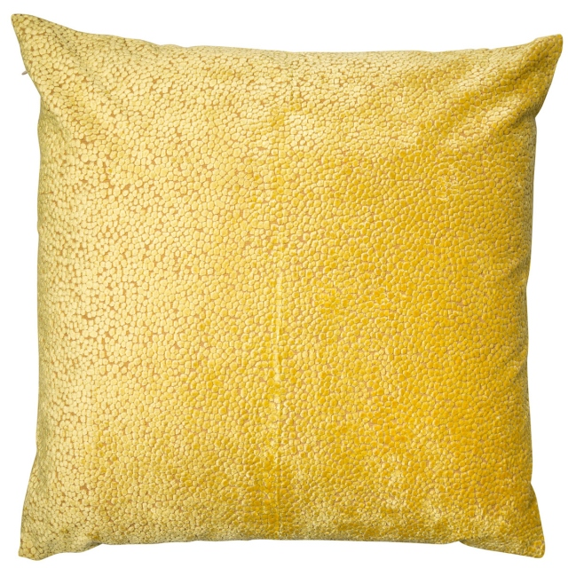 Bingham Mustard Large Cushion