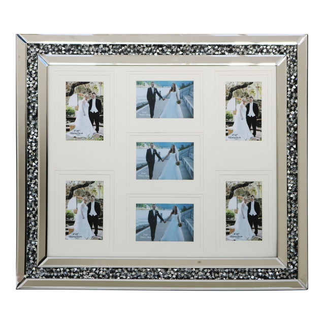 Halley Wall Frame 7 Image Collage - Mirrored