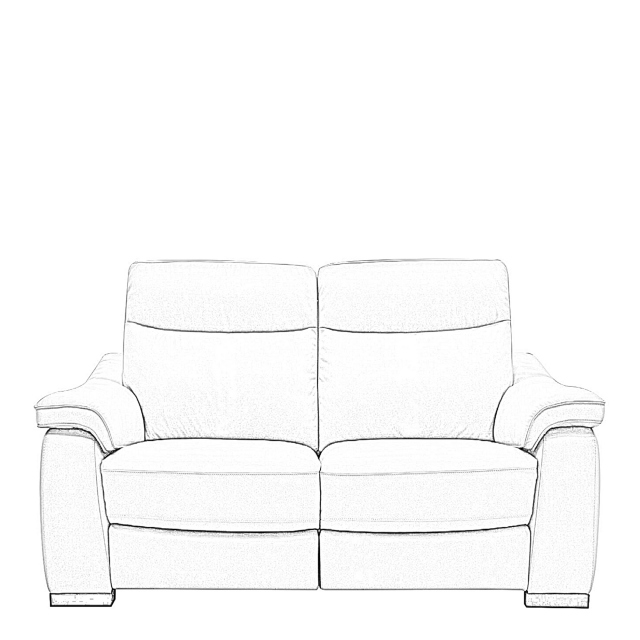 Caruso - 2 Seat Sofa With 2 Manual Recliners In Fabric