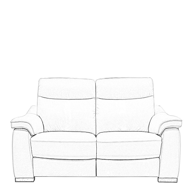 Caruso - 2 Seat Sofa With 2 Power Recliners In Fabric