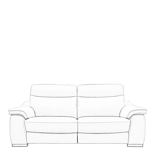Caruso - 2.5 Seat Sofa With 2 Power Recliners In Fabric