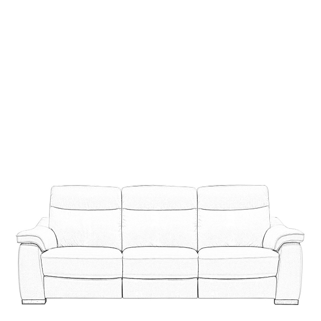 Caruso - 3 Seat Sofa With 2 Power Recliners In Fabric