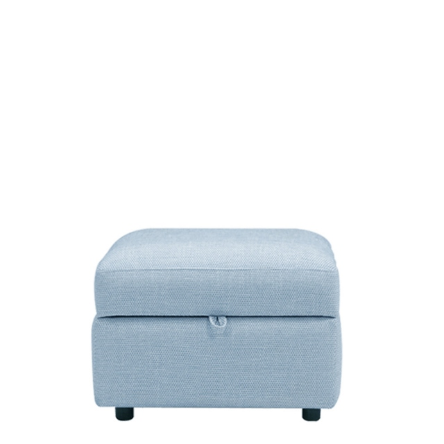 Scala - Storage Footstool In Domaso Fabric