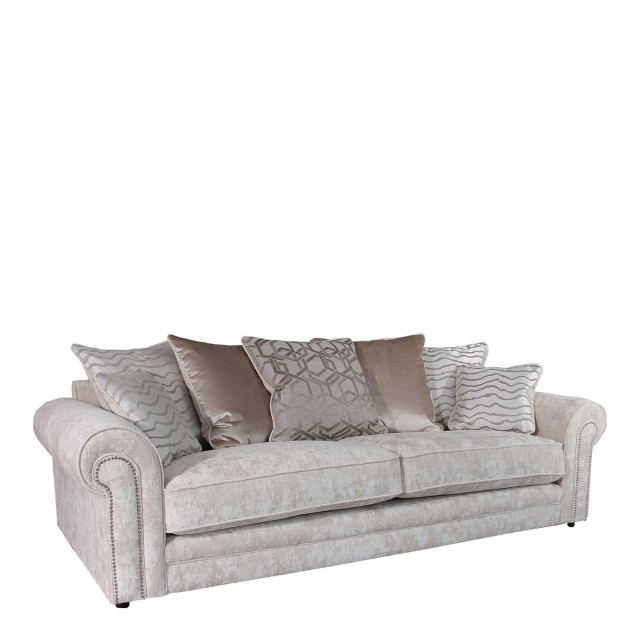 Bellagio - Scatter Back 4 Seat Sofa In Fabric