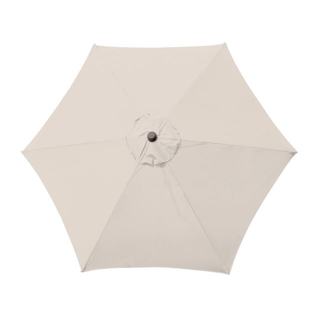 Genoa - 3m Parasol French Grey