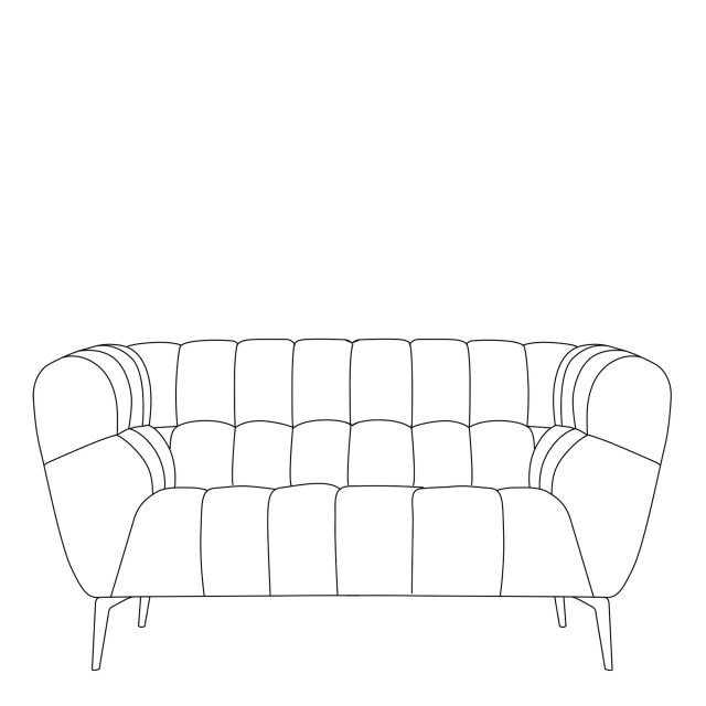 Vincenzo - 1.5 Seat Sofa