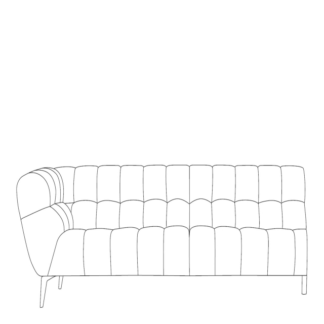 Vincenzo - 3 Seat Sofa LHF Arm