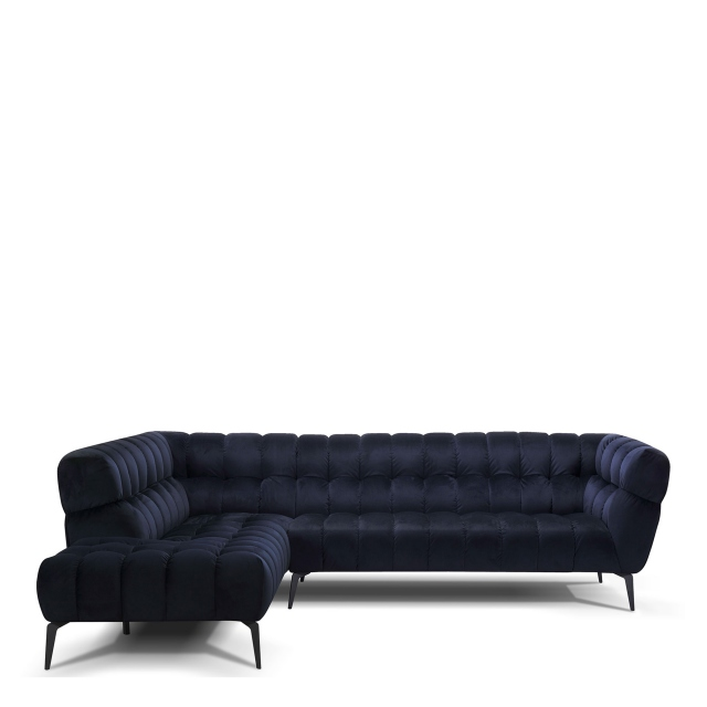 Vincenzo - 3 Seat Sofa With LHF Corner Chaise In Grade BSF20 Fabric