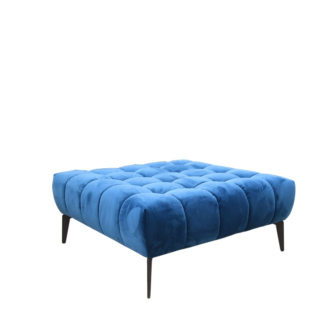 Vincenzo - Large Square Footstool