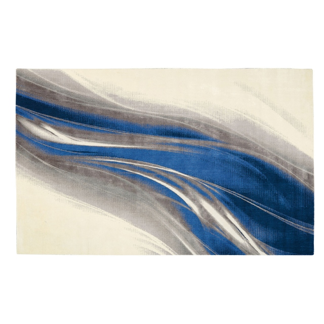 Twilight Rug TWI28 Ivory Grey Blue