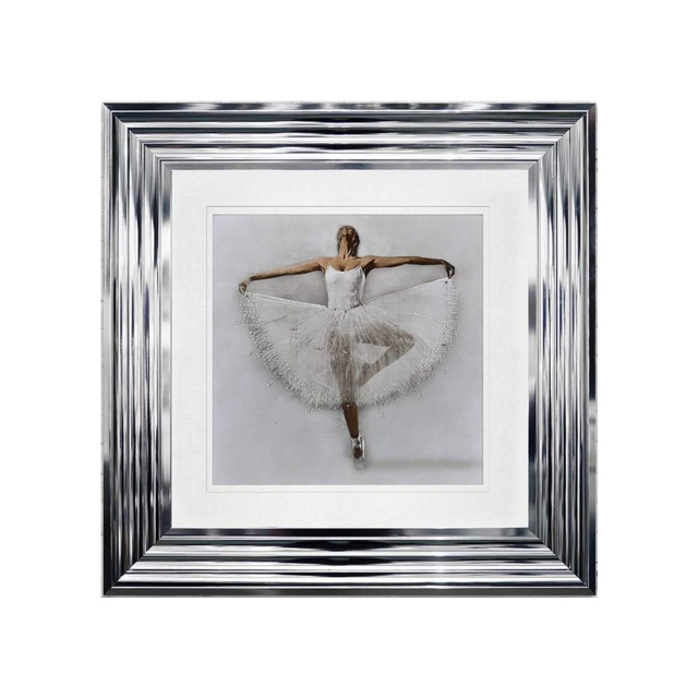 Ballerina 2 - 55cm Chrome Stepped Frame