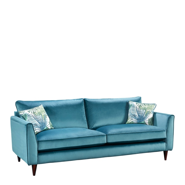 Luxe - 3 Seat Sofa In Fabric Bloom