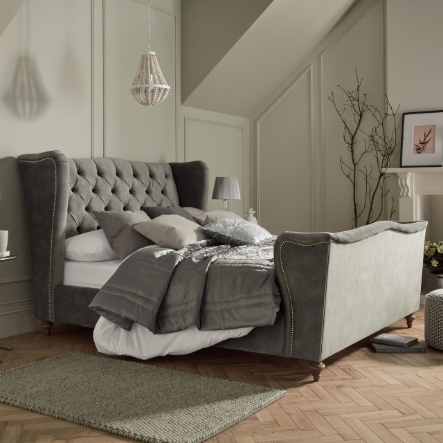 Four Seasons - Slatted High End Bed Frame