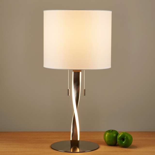 Twin LED Table Lamp