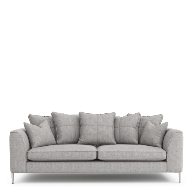 Colorado - Pillow Back Extra Large Sofa In Grade B Fabric