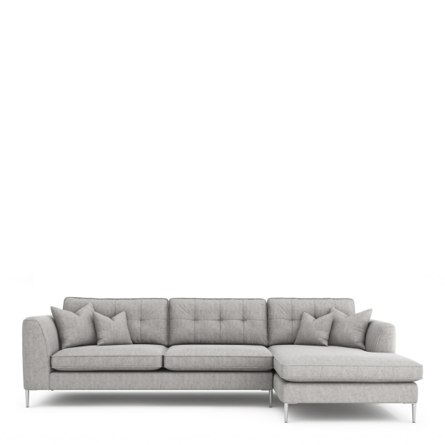 Colorado - Standard Back Large Chaise Sofa 3 Seat 1 Arm LHF With Chaise RHF In Grade E Fabric