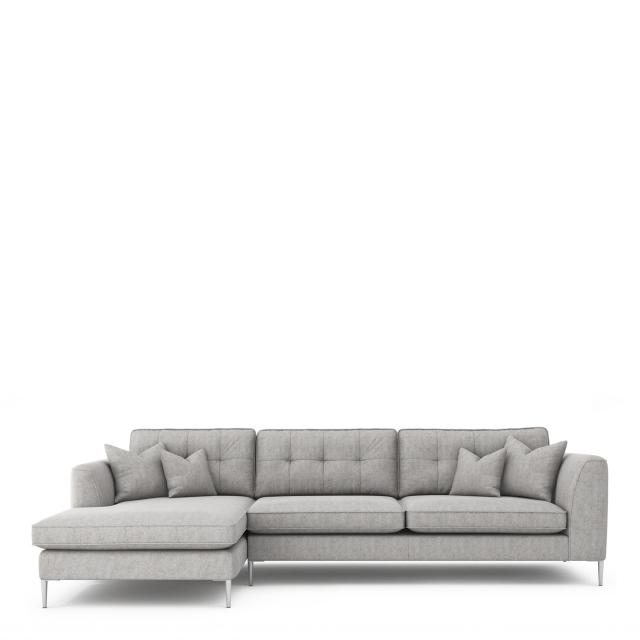 Colorado - Standard Back Large Chaise Sofa LHF Chaise With 3 Seat 1 Arm RHF
