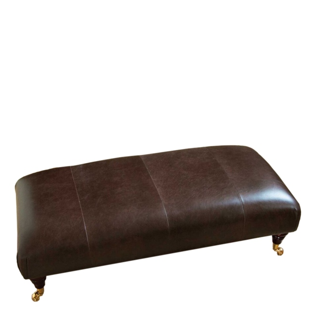 Parker Knoll Devonshire - Footstool In Leather