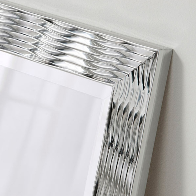 New Wave Mirror Silver
