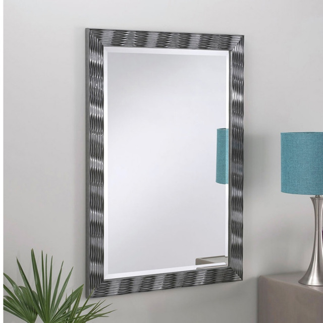 New Wave Mirror Grey