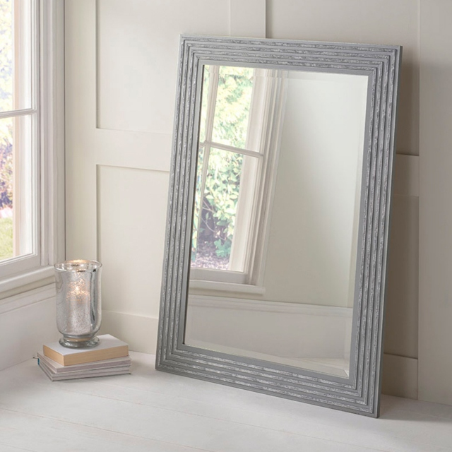 Dazzle Mirror Silver/Grey