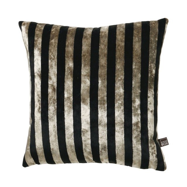 Harley Jumbo Cushion Black/Gold