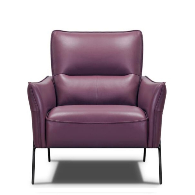 Fiore - Accent Chair In Leather