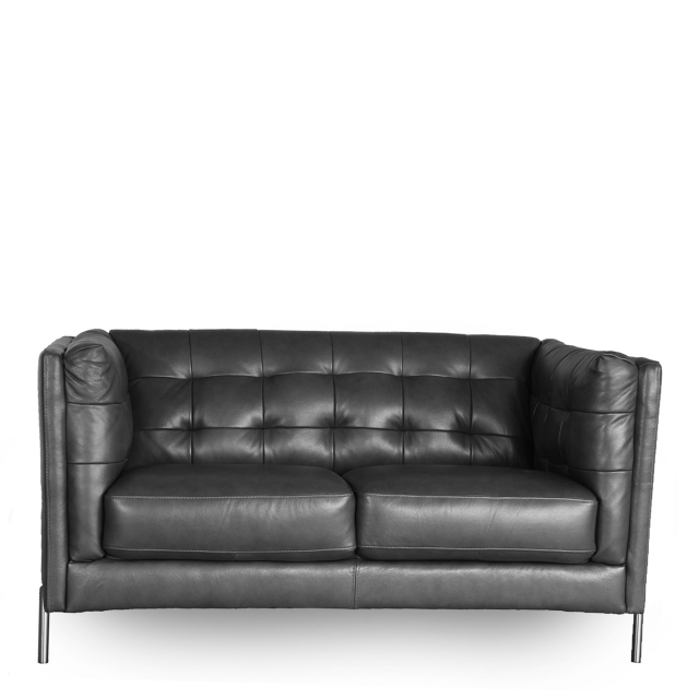 Mezzo - 2 Seat Sofa In Leather