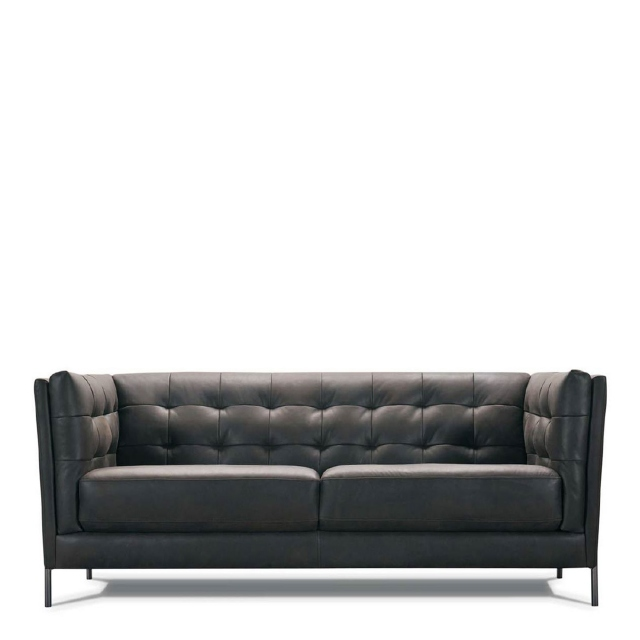 Mezzo - 3 Seat Sofa In Leather