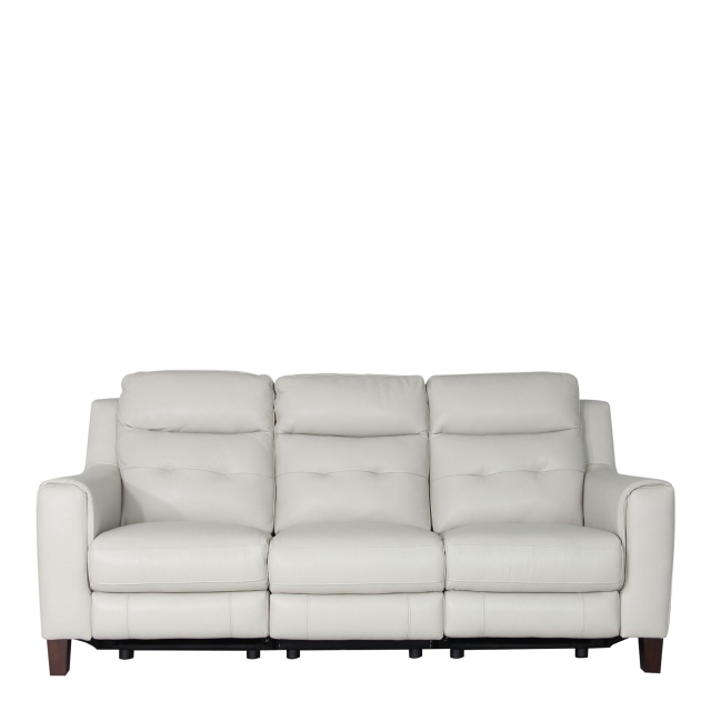 Caserta - 3 Seat Sofa With Power Recliners In Leather