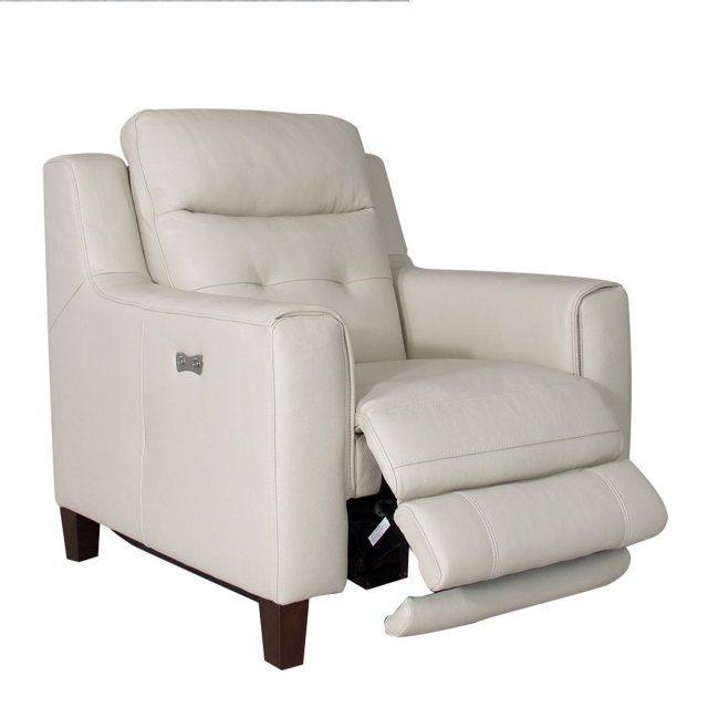 Caserta - Power Recliner Chair In Leather