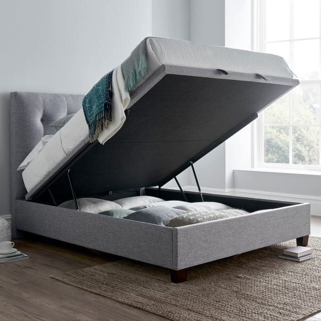 Swell Ottoman Storage Beds Single Double Fishpools Theyellowbook Wood Chair Design Ideas Theyellowbookinfo