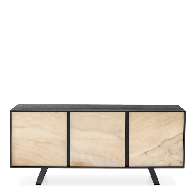 Calligaris Secret - CS/6053-1C 3 Door Sideboard Ceramic Front