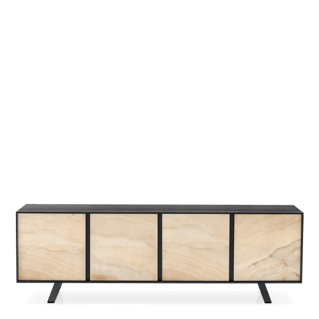 Calligaris Secret - CS/6053-3C 4 Door Sideboard Ceramic Front