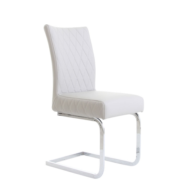 Mason - Dining Chair In Dark Grey PU