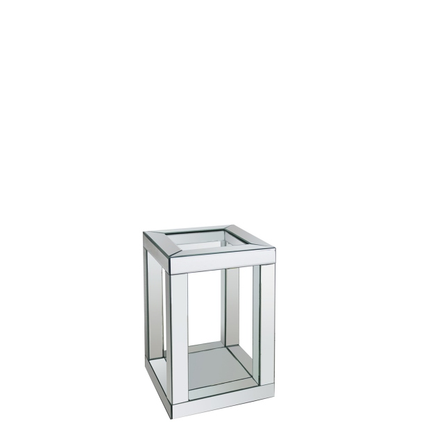 Viola - End Table Silver Mirror  51cm High