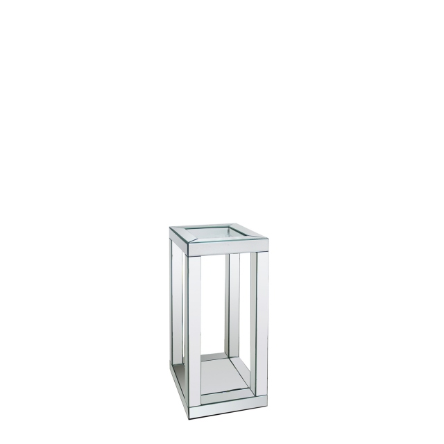 Viola - End Table Silver Mirror 71cm High