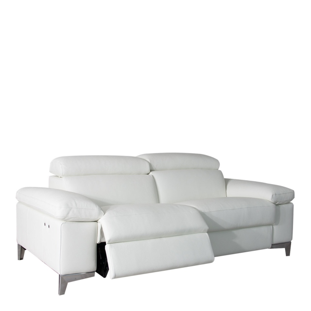 Santoro - 2 Seat Sofa With Power Recliners In Leather